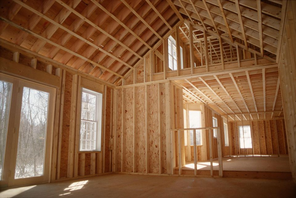 Сколько этажей в каркасном доме?